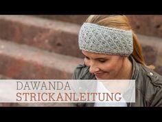 DaWanda Strickanleitung: Stirnband im Dornröschenmuster