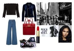 Untitled #34 by demetra-alfa on Polyvore featuring Alexander McQueen, Solace, Converse and Mulberry