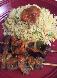Liberian Food Caribbean Food, Caribbean Recipes, Cameroon Food, Dry Rice, West African Food, Around The World Food, Nigerian Food, Middle Eastern Recipes, African Cuisine
