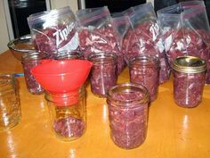 Canning Wild Game--never tried canned meat but I hear it's pretty good, and this may save space in the freezer.