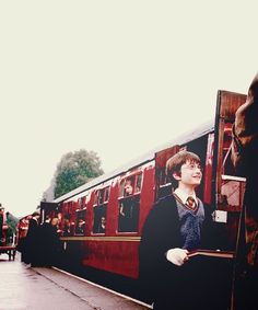 Harry and the Hogwarts Express