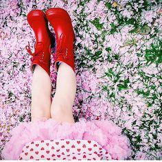 Skønt foto med vores gummistøvler taget af Søs Uldall-Ekman fra Enfants Terribles Mag