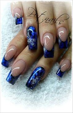 Those French Nail Art Designs are simply beautiful! Take a look at our gallery! - Those French Nail Art Designs are simply beautiful! Take a look at our gallery! Fabulous Nails, Gorgeous Nails, Pretty Nails, Amazing Nails, Nail Art Designs, Acrylic Nail Designs, Ring Designs, Beautiful Nail Designs, Beautiful Nail Art