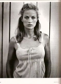 Carolyn Murphy (Photography by Vincent Peters) Celebrity Photography, Photography Women, Portrait Photography, Carolyn Murphy, Img Models, Black White Fashion, Female Portrait, Timeless Beauty, Supermodels