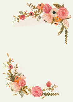 Diy Art Vintage Frames 54 Ideas For 2019 Tuto Gimp, Wedding Cards, Wedding Invitations, Marriage Cards, Borders For Paper, Flower Invitation, Floral Border, Flower Backgrounds, Flower Frame