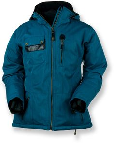 Obermeyer Delaney Insulated Jacket - Women's - I love that Obermeyer makes jackets for women up to size 20 some are up to 22. As a larger sized female skiier, there is nothing worse than wearing men's clothes on the mountain. Just bought this, and am sizing down a size, but I love it.