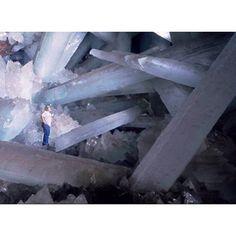 Naica crystal cave Mexico!