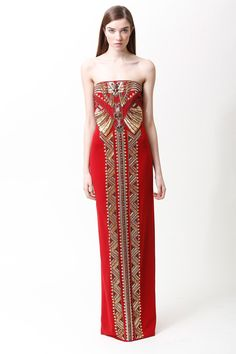 Badgley Mischka   Pre-Fall 2013 Collection   Style.com