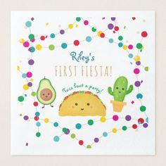 Shop Taco first fiesta theme birthday paper dinner napkins created by colleenmichele. Baby Girl Birthday Theme, Birthday Themes For Boys, First Birthday Photos, Boy First Birthday, Boy Birthday Parties, Birthday Ideas, Birthday Gifts, Birthday Cakes, Fiesta Theme Party