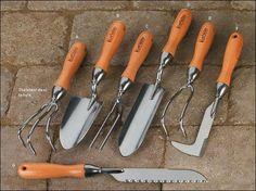 Lee Valley Premium Garden Tools - Gardening. Would love the crack weeder