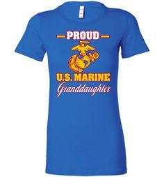 Proud U.S. Marine Granddaughter Women's T-Shirt