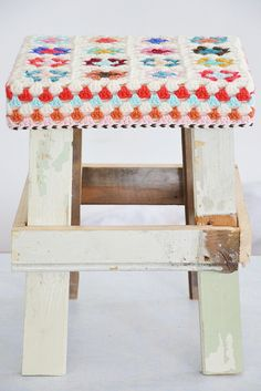 the stool remains