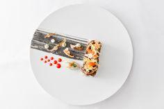 pulpo terrine | mussel | artichoke | cucumber relish