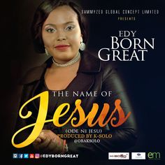 "Multi talented Gospel vocalist, social transformer and songwriter popularly Known asEdyBornGreat is out with her new song release ""Ode Ni Jesu"". The song is off her ""The Name Of Jesus"" album.   #EdyBornGreat"