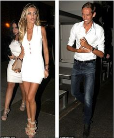 Abbey Crouch both showed off impressive pins at the PlayGround nightclub
