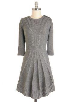 Warm Cider Dress, #ModCloth