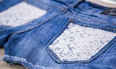 and Family - Tips & Products - with Jessie Jane DIY Lace Shorts Perfect for Your of July Party Home And Family Tv, Home And Family Hallmark, Hallmark Homes, Family Show, Diy Lace Shorts, Fabric Crafts, Diy Crafts, Crafts With Pictures, Embellished Jeans