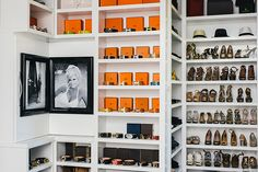 One of the most luxurious closet I& seen yet. Sure, I& seen plenty of floor to ceiling shelves of just gorgeous items before,.