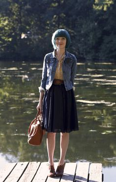 The Horizon Leans Forward (A Clothes Horse) 150 The Horizon Leans Forward The post The Horizon Leans Forward (A Clothes Horse) 150 appeared first on Outfit Diy. Hipster Outfits, Hipster Fashion, Work Fashion, Vintage Fashion, Hipster Style, Skirt Outfits, Fall Outfits, Cute Outfits, Fashion Outfits