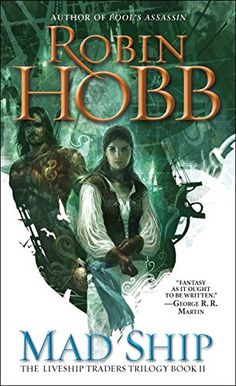 Mad Ship (The Liveship Traders, Book 2) by Robin Hobb http://www.amazon.com/dp/0553575643/ref=cm_sw_r_pi_dp_rTDKub184CW99