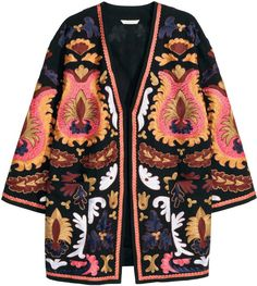 Pin for Later: The Jackets Every Woman Should Have in Her Closet A Statement Jacket The fun, colorful, happy side of you wants to express itself. Do it in a statement-making jacket. H&M Embroidered Kimono ($129)