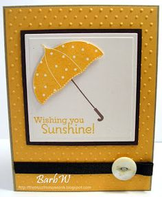 The Buzz: April Showers stampin up