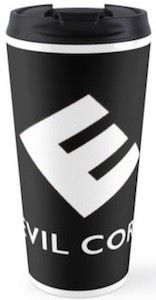 Mr. Robot Evil Corp Travel Mug.