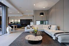 Contemporain Salon by Laurent Guillaud-Lozanne Architecte DPLG
