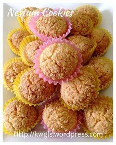 Nestum Cereal Cookies (麦片年饼)      #guaishushu #kenneth_goh   #nestum_cookies #麦片年饼