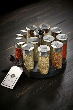 Round Herb and Spice Rack