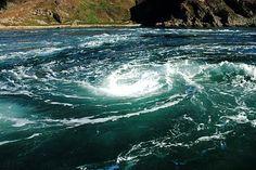 Corryvreckan Whirlpool  Isle of Jura, Scotland