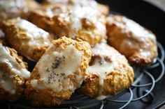PUMPKIN COOKIES WITH GINGER ICING