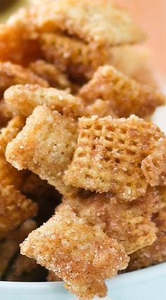 Caramel Churro Chex Mix... SO good and addicting!!