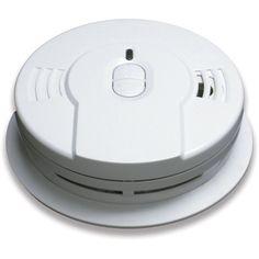 Kidde - i9010 Smoke Detector, 3V 10-Year Worry-Free DC Sealed Lithium Battery Powered w/Memory & Smart Hush (21008697)