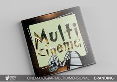 Cinematograful multidimensional #design grafic #concept grafic #design Branding, Concept, Cover, Books, Design, Art, Art Background, Brand Management, Libros