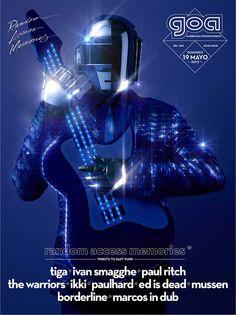 Tributo a Daft Punk en la nueva producción de Goa en Fabrik