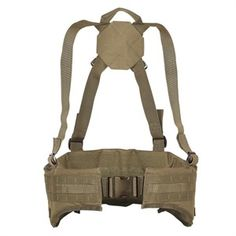 Voodoo Tactical snipers padded MOLLE pistol belt w/quick release bucklet ($35).