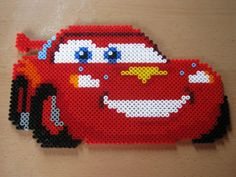 Cars Pixar hama beads by perleshama30