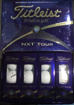 Golf Balls 18924: New Titleist Nxt Tour Golf Balls, 3 Dozen -> BUY IT NOW ONLY: $60.0 on eBay!