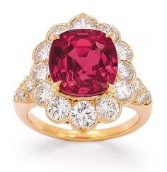 ruby and diamond ring, Van Cleef & Arpels