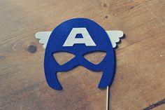máscara Capitão América (em eva)