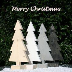Merry christmas! Decoreer je huis met één van deze steigerhouten kerstbomen