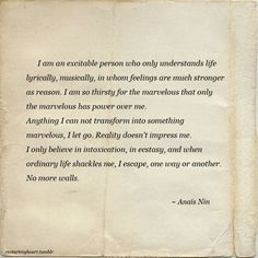 INFP This describes me perfectly. Such a beautiful outlook on life...