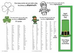 27 best how many words can you make images on pinterest how many