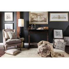 "Frontier Pouf ~ Light Gray 100% Wool Woven Color (Pantone TPX): Cream(11-0105), Light Gray (14-4500) 18"" x 18"" x 18"""