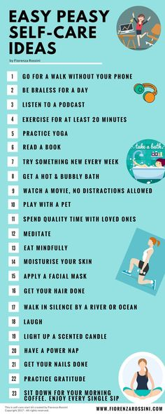 My personal collection of favourite ways to practice self-care.