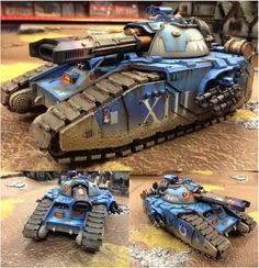 Ultramarines Glaive Super Heavy Tank