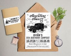Jeep Theme Baby Shower Invitation!!! | BlueLineImages ...