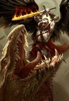 Fantasy Angel Warrior Art, Pictures, Images