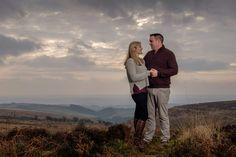 Laura & Ryan's engagement shoot in Exmoor National Park, Devon, UK